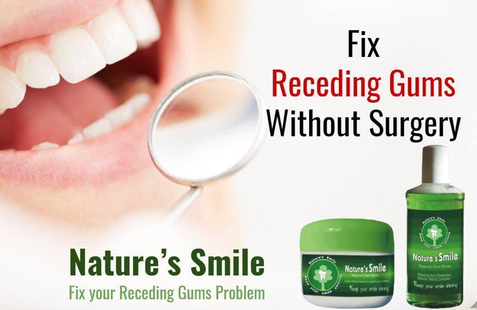 Regrow receding gums
